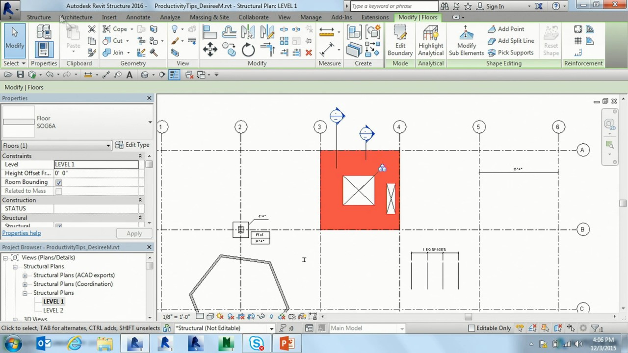 Tips and Tricks to Enhance Productivity in Revit - Entering Dimensions