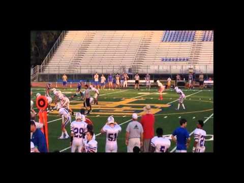 Taj Bickham John Curtis Christian School Football(2014-2015)