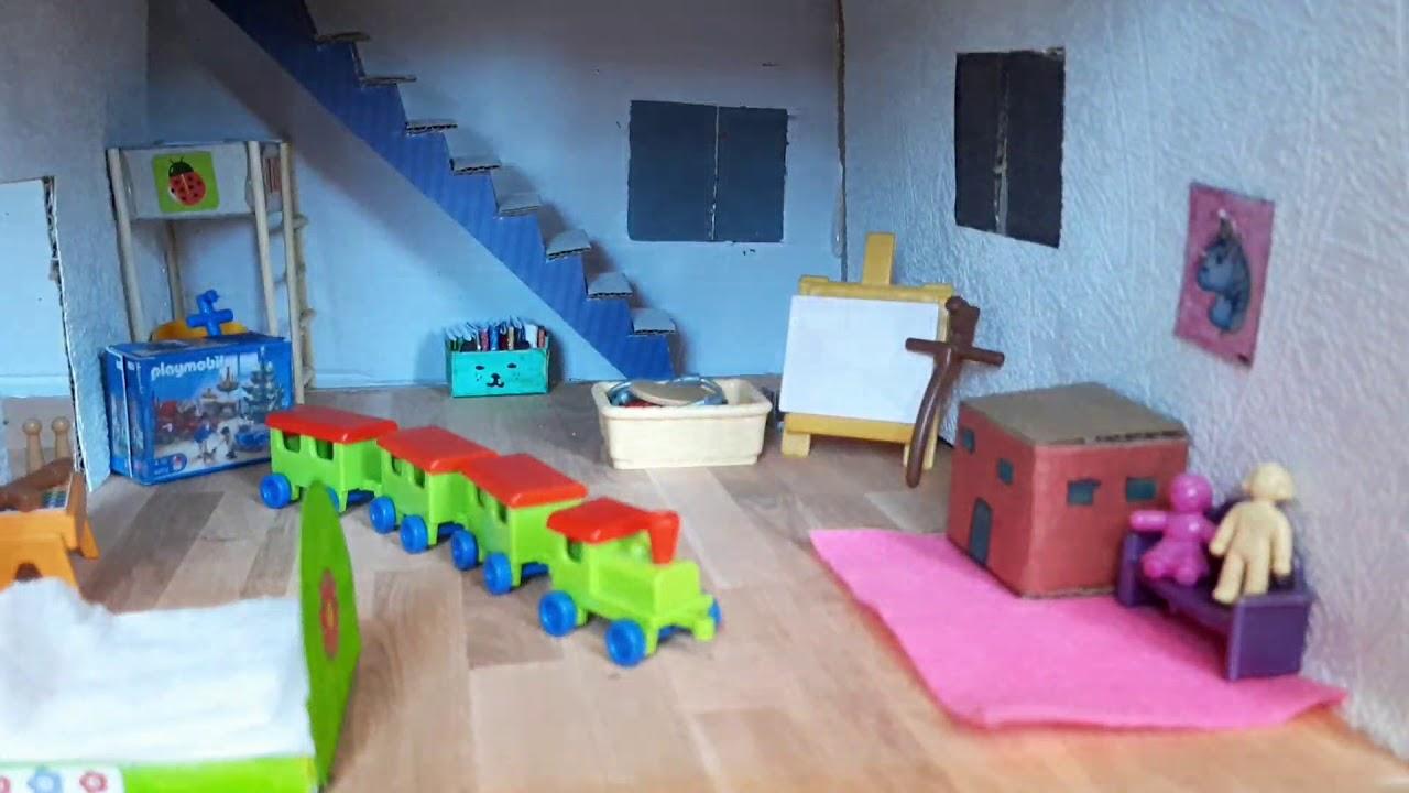Aménagement de ma maison Playmobil - Famille Hawkins
