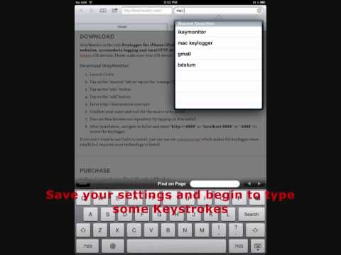 how to detect keylogger on iphone