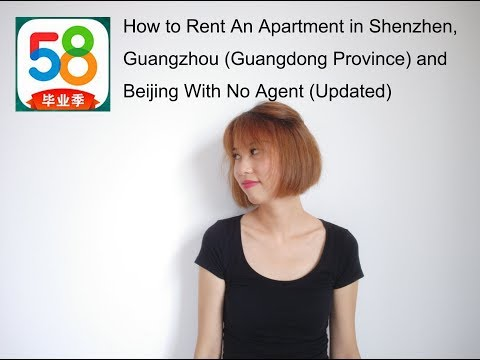 How to Rent An Apartment in Shenzhen, Guangzhou Guangdong Province and Beijing With No Agent Updated