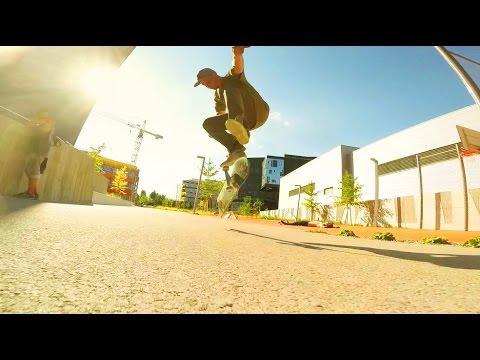 Austria Weekend - Skateboard - GoPro