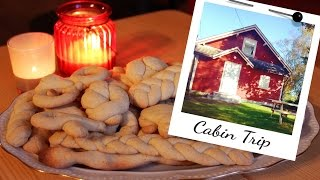 How To Make Moldable Butter Cookies | And Cabin Trip