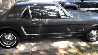 1965 Mustang startup