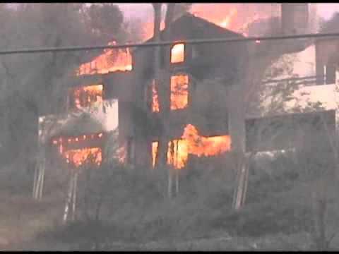 Freeway Complex Fire (11/15/08) - 2008-11-16