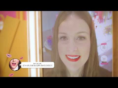 Bourjois - Beauty and Cosmetics Virtual Try-On Lift and Learn Magic Mirror Retail Display