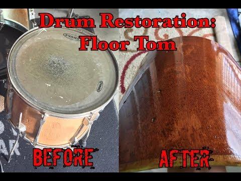 Tama Rockstar Floor Tom Restoration