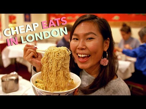 LONDON CHEAP EATS: Noodles Under £6 In Soho/Chinatown!! | London Vlog #5