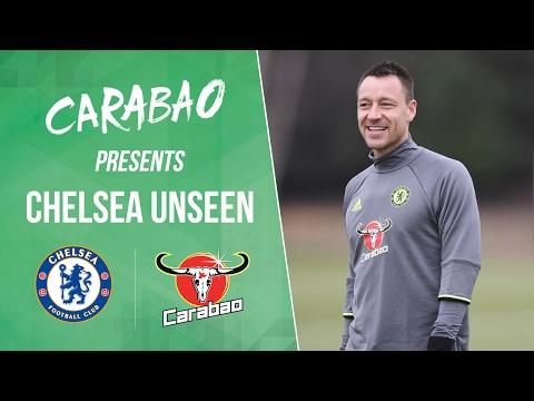 CHELSEA UNSEEN: Gerrard visits John Terry, Cahill bottleflips and Zouma trips Costa
