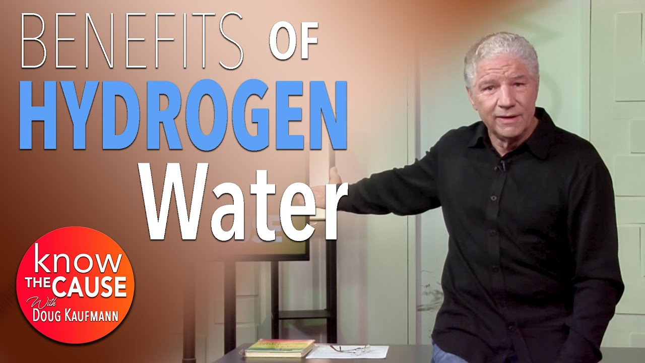 Hydrogen-Charged Water is Affordable, Used Worldwide AND BACKED BY
