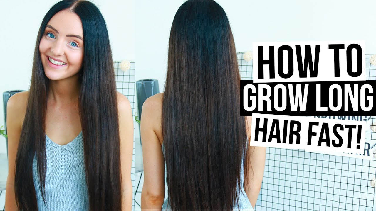 How To Grow Your Hair Long Fast Naturally