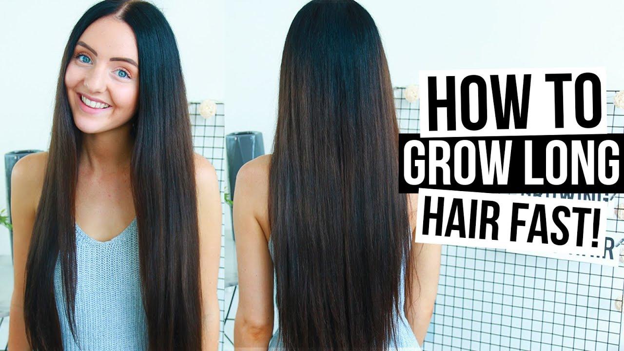 grow long hair fast