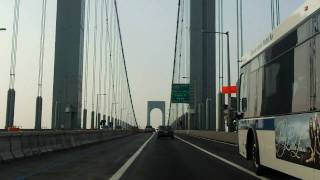 Bronx Whitestone Bridge southbound
