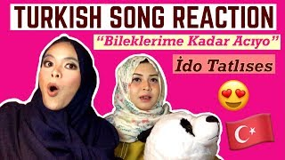 TURKISH SONG REACTION (İdo Tatlıses - Bileklerime Kadar Acıyo) Video