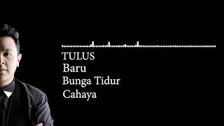 3 Lagu Tulus (BARU) (BUNGA TIDUR) (CAHAYA)