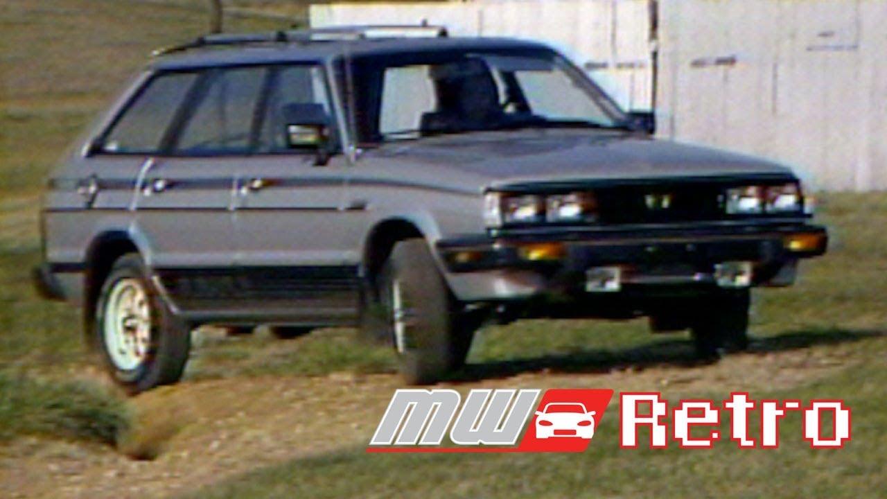 1989 subaru dl wagon