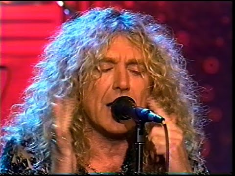 Robert Plant Tonight Show 1993 (I Believe & Tall Cool One)