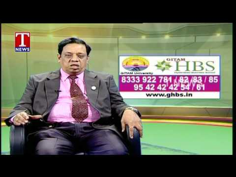 GITAM - HBS Dean and Director speaks to T News about our MBA program on 10-May-2017.