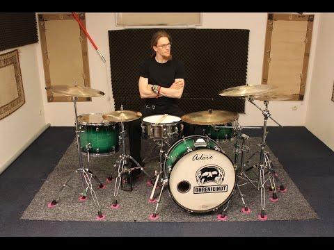 Andi Rohde - Ohrenfeindt Drumset-Aufbau im Detail (Teil 1)