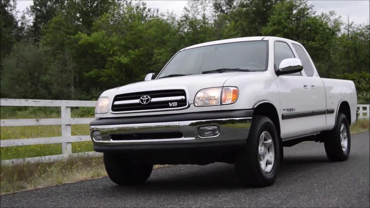 2000 Toyota Tundra Sr5 Access Cab 4 7l V8 4x4 1 Owner 54k Miles Youtube