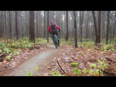 Youtube video - Maxxis Minion DHR and DHF in Dry, Wet and Snow conditions. (Beginners trails)