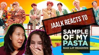 JAALK REACTS TO BAD LIP READING