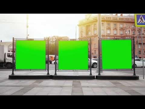 Green Screen - Street Signs