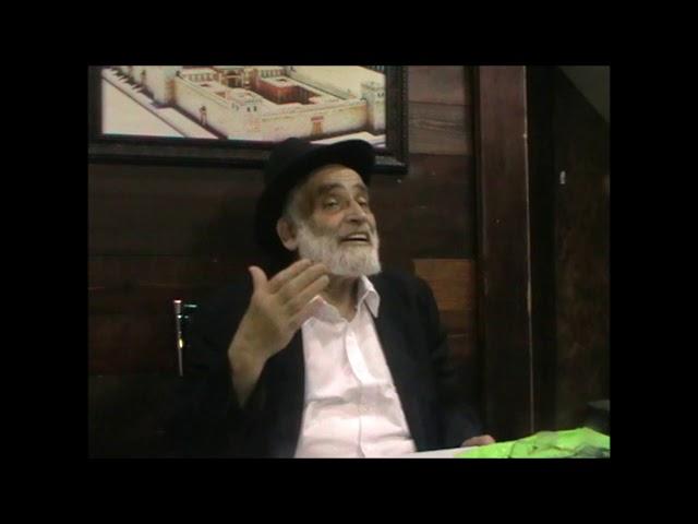 פסח שני ה'תשע''ח - הרב יוסף שני שליט