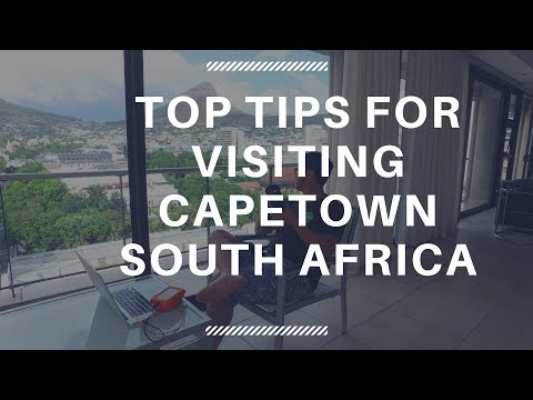 South Africa Capetown - Top tips for Digital Nomads