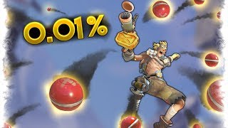 0.01% JUNKRAT LUCK.. | Overwatch Best and Funny Moments - Ep.166