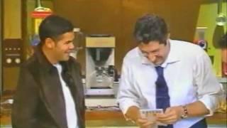 Jamel Debbouze et Gad Elmaleh en plein délire au Burger Quizz