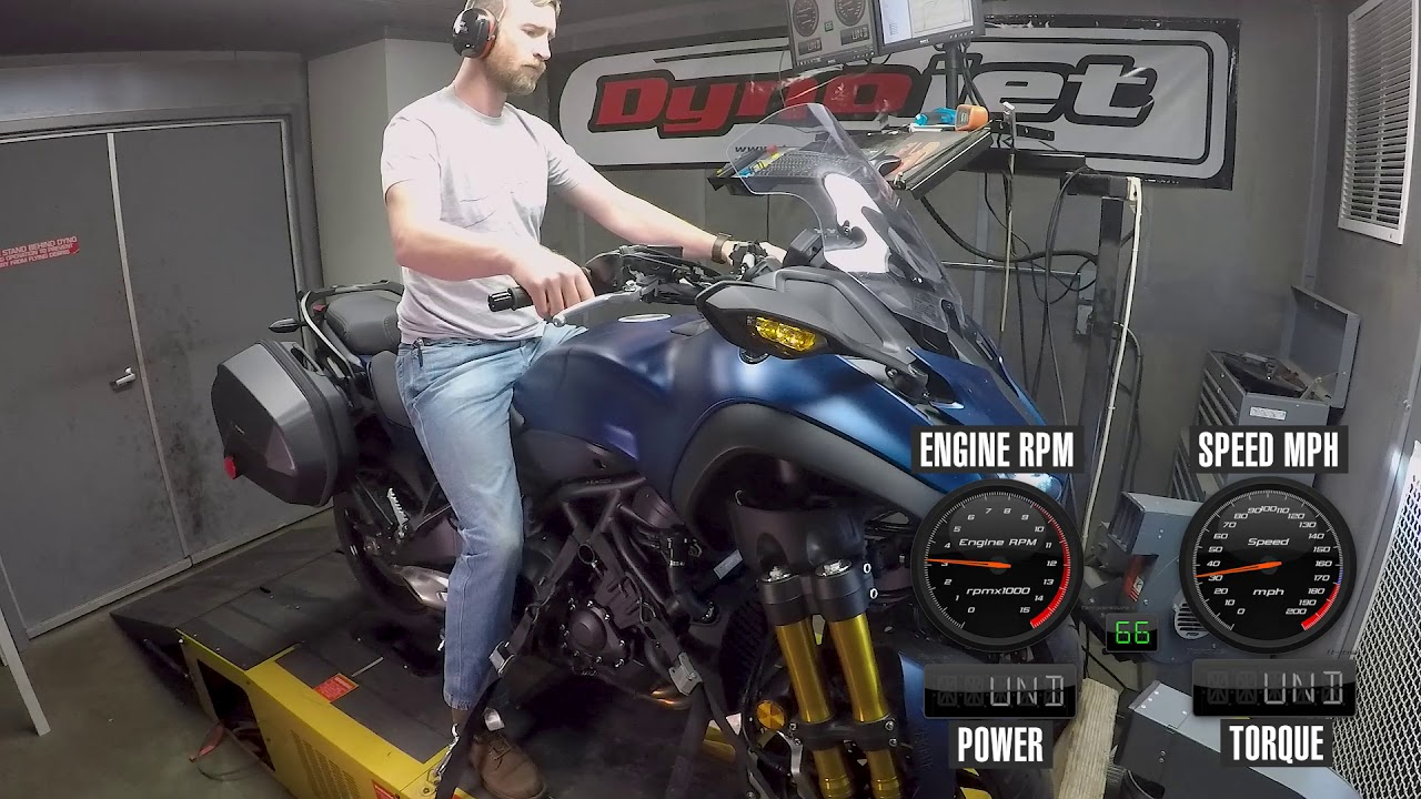 How Much Power Does The 2019 Yamaha Niken Gt Make Youtube