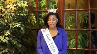 Miss Texas 2013   Ivana Hall   Tanglewood Smiles Testimonial Thumbnail