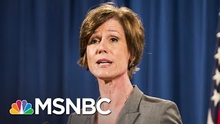 White House Denies Trying to Block Sally Yates From Testifying On Russia | MSNBC