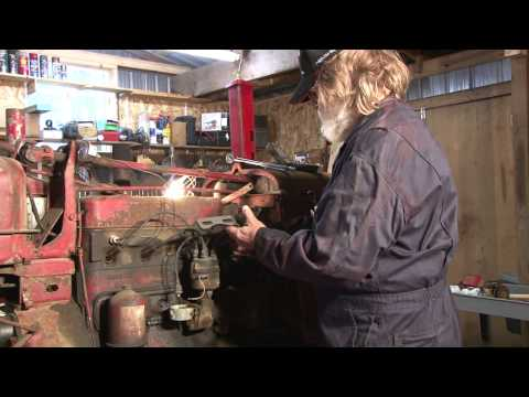 This Old Tractor: Episode 1 Alternator Hook Up - YouTube