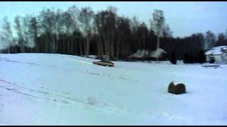 Audi 100 quattro 23 B2 1987m on snow