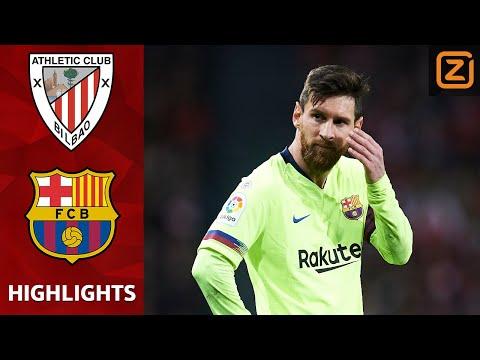 Briljante TER STEGEN behoedt Barca | Athletic Bilbao vs Barcelona | La Liga 2018/19 | Samenvatting