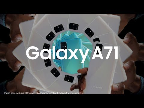 Samsung Galaxy A71: AWESOME is for everyone