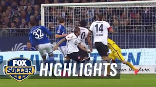 Video Gol Pertandingan Schalke 04 vs Eintracht Frankfurt