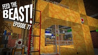 "Feed The B-Team! Ep77 - ""The Flame Job Engine!!!"" Feed The Beast Modpack"
