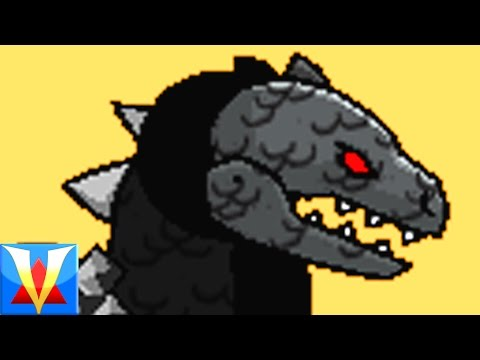 Scribblenauts GODZILLA Mod!!