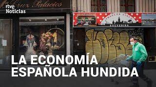 Coronavirus: La economía española sufre una caída histórica del 5,2 % en el primer trimestre del año