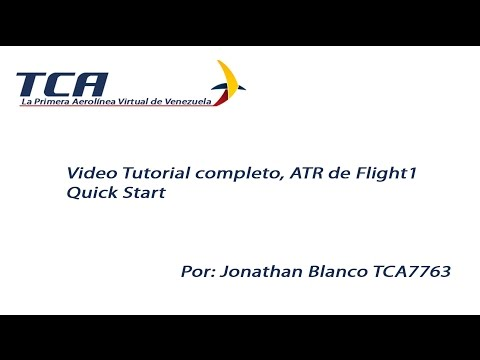 Video Tutorial ATR 72-500 de Flight1