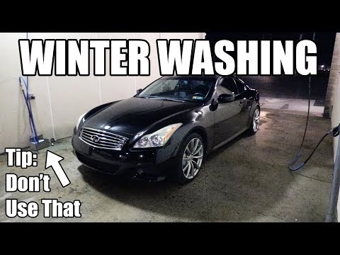 How To Wash Your Car During Winter: Easy Tips