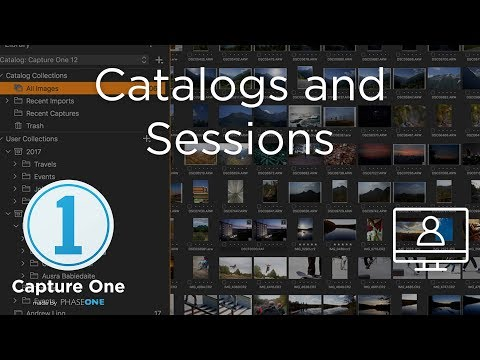 Catalogs and Sessions