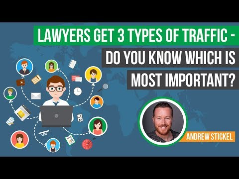 Lawyers Get 3 Types of Traffic - Do You Know Which is Most Important?