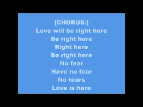 SWV-RIGHT HERE [HUMAN NATURE] WITH LYRICS