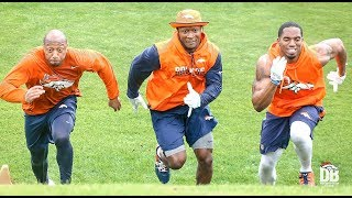Uphill Battle: Broncos run hill sprints for conditioning program