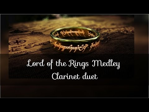 Lord of The Rings Medley Clarinet Duet