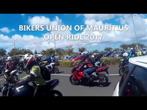 Bikers Union of Mauritius Open Ride 2017